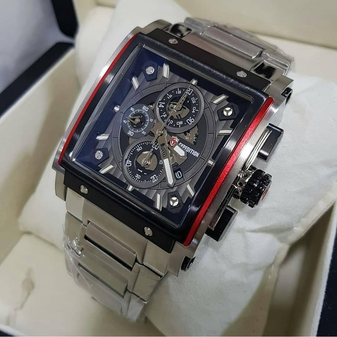 Jual Jam Tangan Expedition 500 Welcome To E6392 Rose Gold Black Men E6731 Silver Original