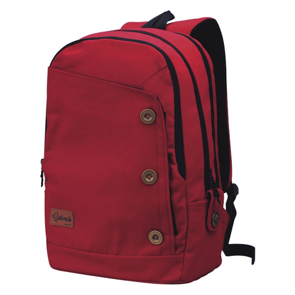 Tas Ransel Laptop Merah + Rain Cover - Original Catenzo St 033 ... 9713167edd
