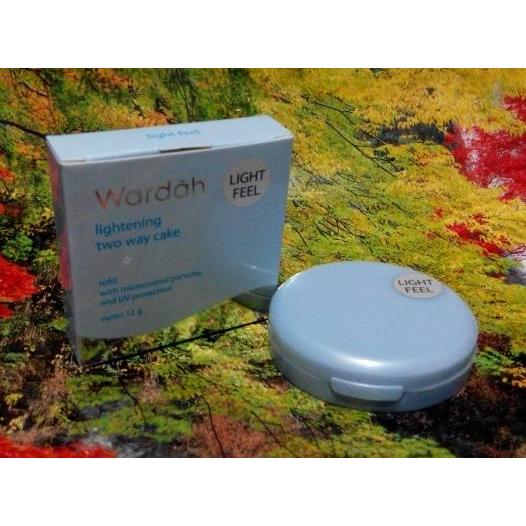 Wardah Refill Lightening TWC Light Feel 02 Golden Beige