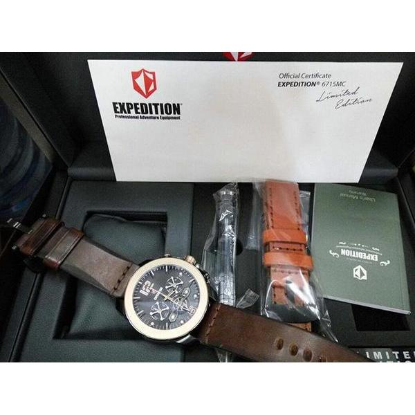 Jam Tangan Official Certificate Expedition E6715mc Limited
