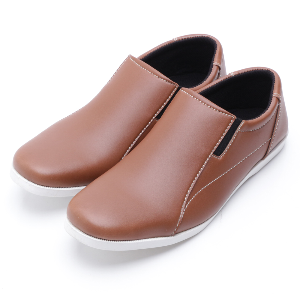 Dr Kevin Leather Shoes 13140 Tan Daftar Harga Terkini Termurah Men Sandals 9615 Cokelat Muda 41 Drkevin Mens