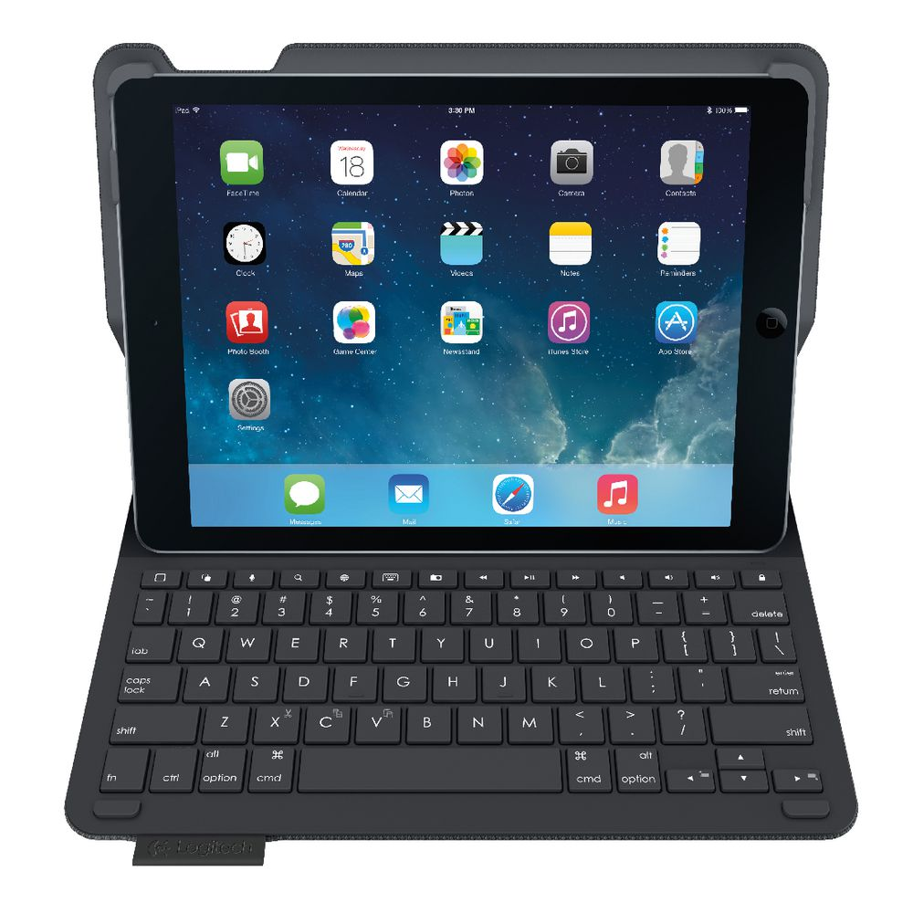 how to connect logitech keyboard to ipad