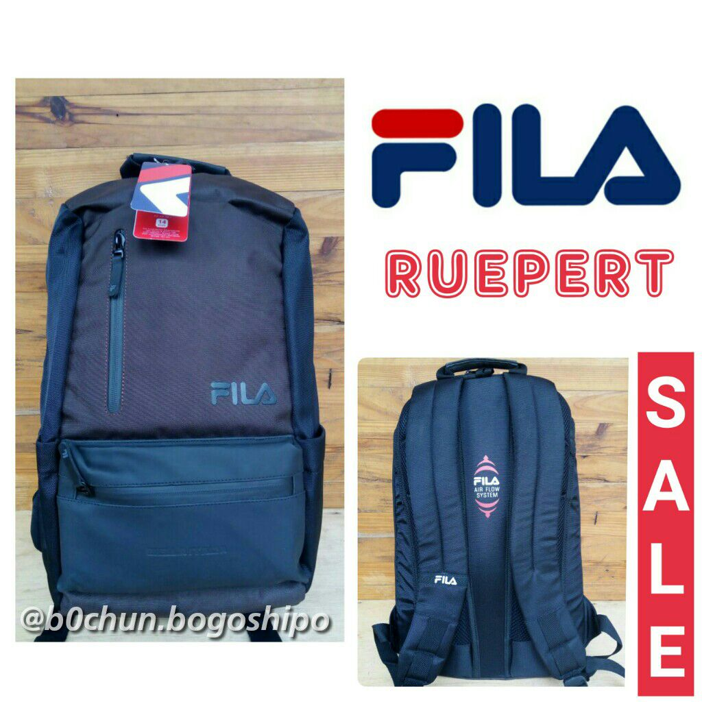 87bd59b1f8b Tas Ransel Laptop Backpack Fila Ruepert (original) - Diskon Murah ...