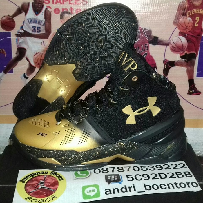 Terlaris!! Sepatu Basket Under Armour Curry 2 High Mvp  73e0c61f91