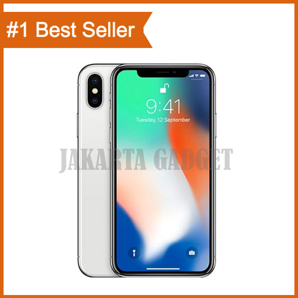Apple Iphone X 256gb Grey Gray Black Silver Garansi Resmi 4 32gb 1 Thn Original 100 White