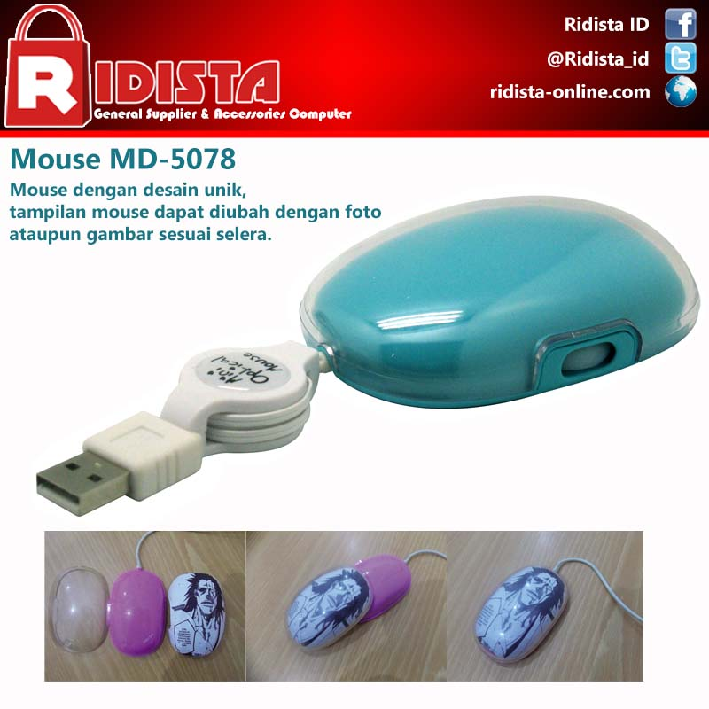 ... MDisk Retractable Mouse MD5078