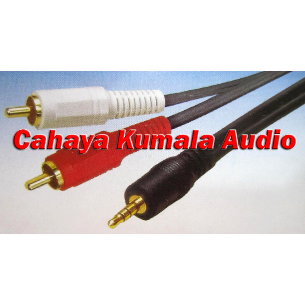 Kabel Audio Shinji Sj 304 18m Elevenia Spliter Remax Original Bagus No Kw