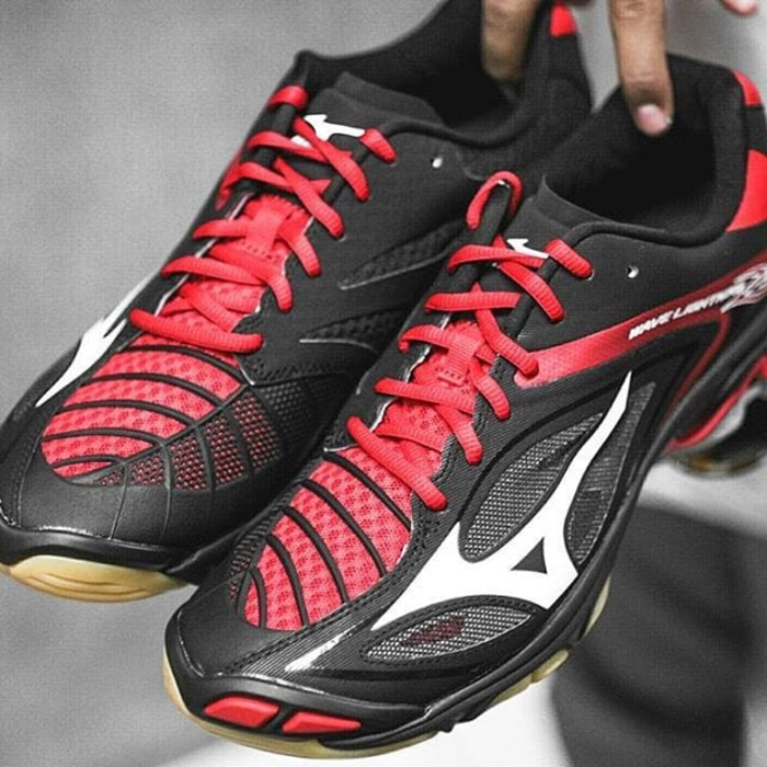 ... SEPATU VOLLY MIZUNO WAVE LIGHTNING Z3 - BLACK   WHITE   CHINESE RED ... 095ccec850
