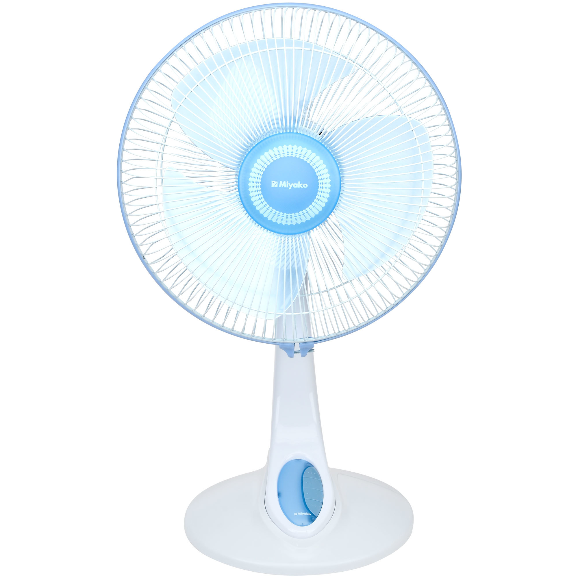 Miyako Kipas Angin 2 In 1 Desk Fan Kad 1227    Biru