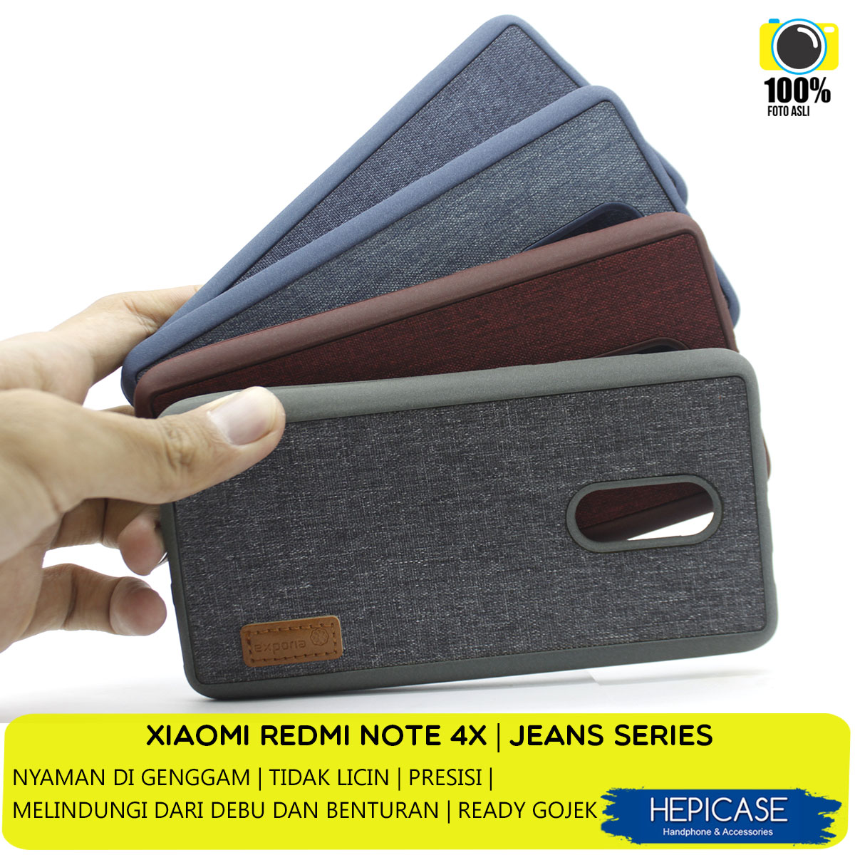 XIAOMI CASE REDMI NOTE 4X JEANS SERIES