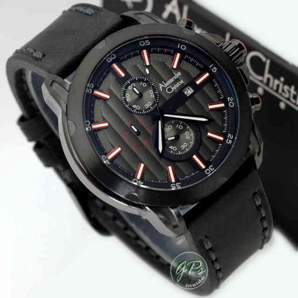 Alexandre Christie 6397 Red Black Leather