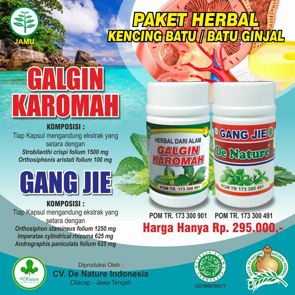 Herbal gurah Fluba herbal Indo utama HIU Spesialis Gangguan Pernafasan. Source · De Nature - Kapsul Galgin dan Gang Jie - Obat Herbal Asli