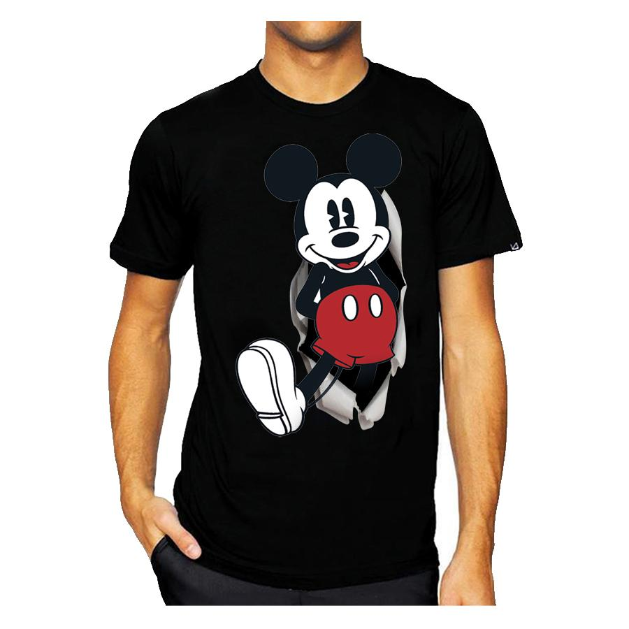 Kaos 3d Mickey Mouse Hitam Elevenia Carvil Sandal Sponge Men Follow M Black Grey Abu Tua 42