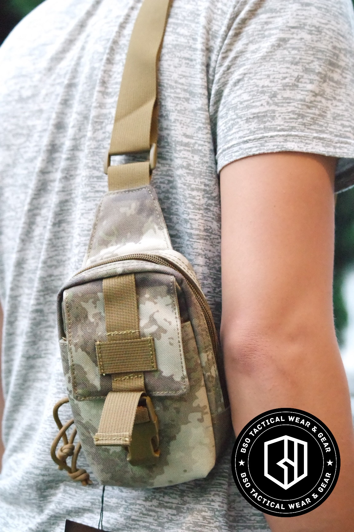 Tas selempang tactical mini cwallet bag outdoor sport bag type 9119