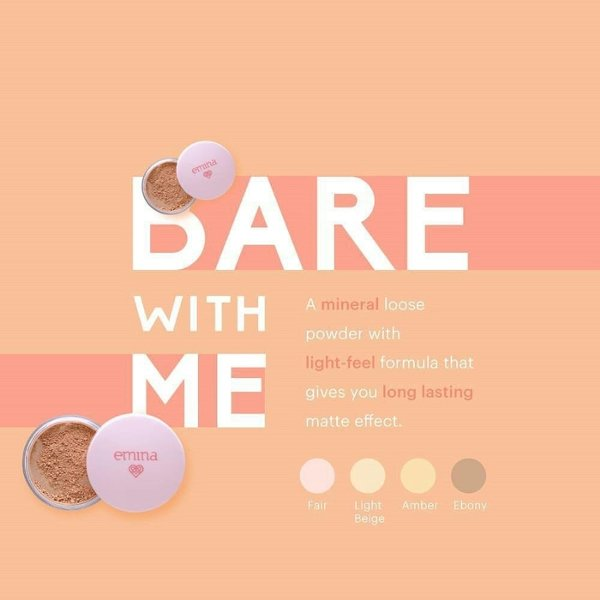 ... Emina Bare With Me Mineral Loose Powder / MKP015 ...