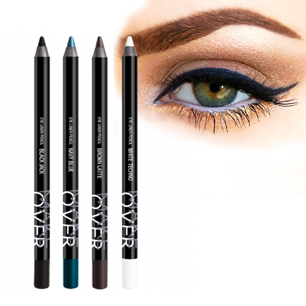 Make Over Eyeliner Pencil Available In 10 Colors