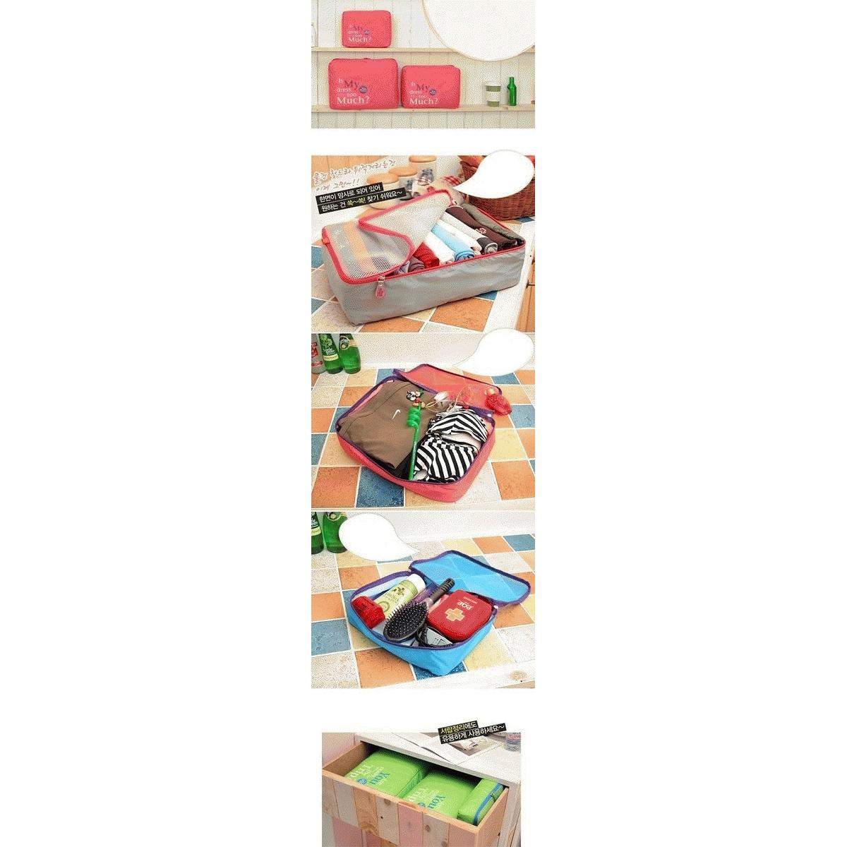 Travel Organizer Pouch 5 In 1 Bags Bag Elevenia Airyrooms Jempol Korean Multifunction Wallet Pasport