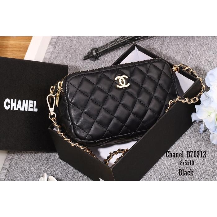 f7898c6f7d obral) Tas Chanel Import Sling Bag Pouch Branded Ch70312 | elevenia