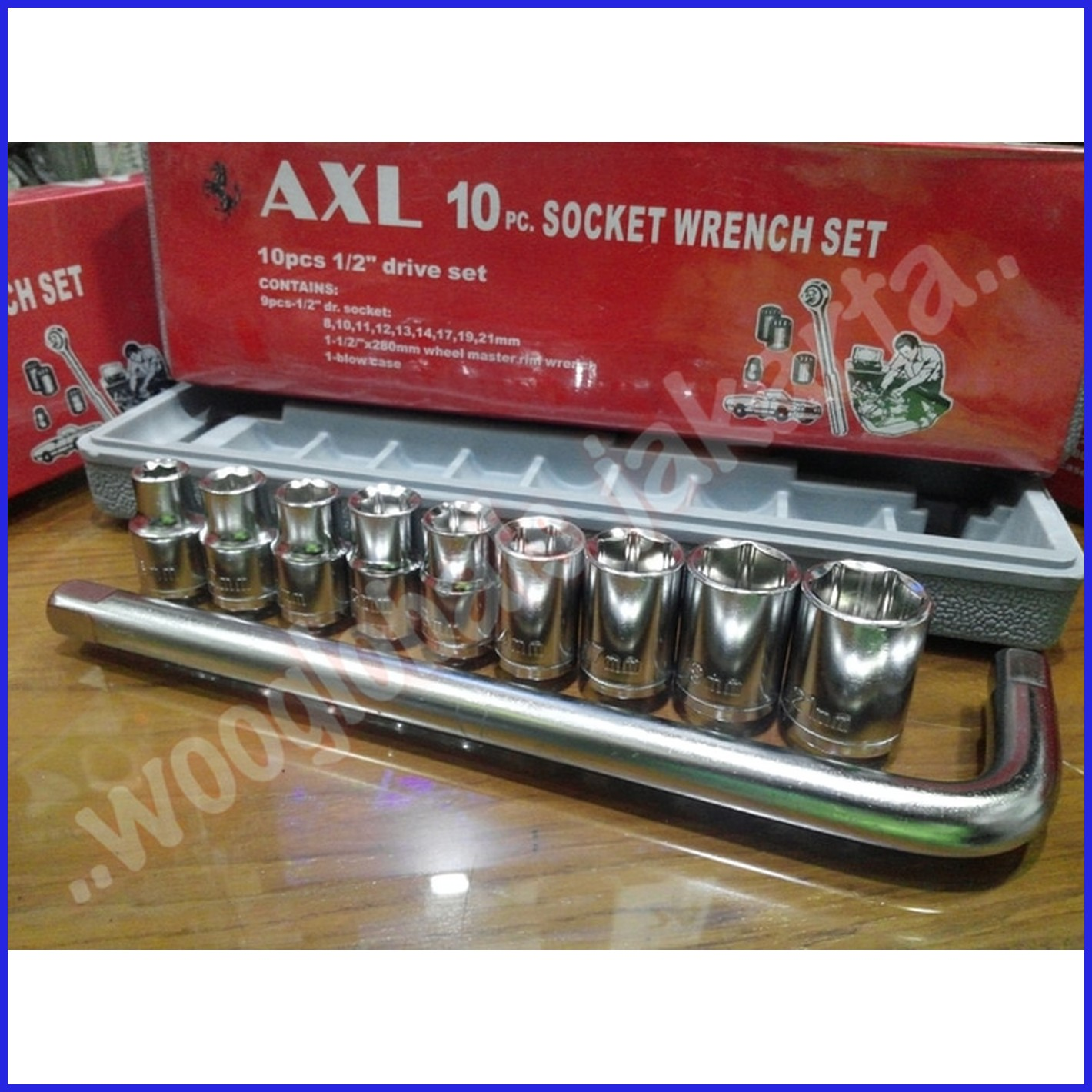 Kunci Sok 10 Pcs Socket Wrench Set Spec Dan Daftar Harga Terbaru 1 Obeng Pc Sxl Quality Hand Toolset Pro Original