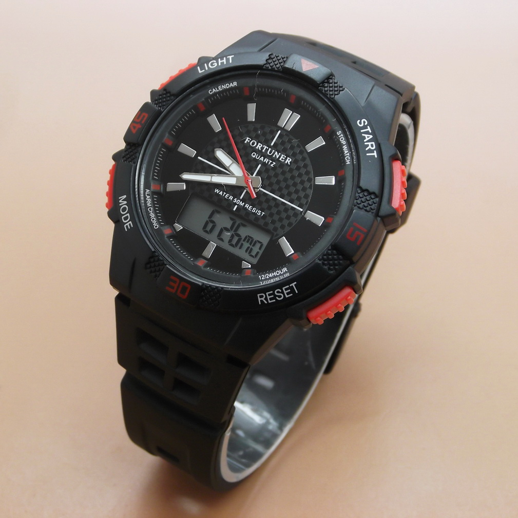 Fortuner Jam Tangan Pria Original J 910 Elevenia Expedition 6658fubl Chronograph Watch Strap Kulit Hitam