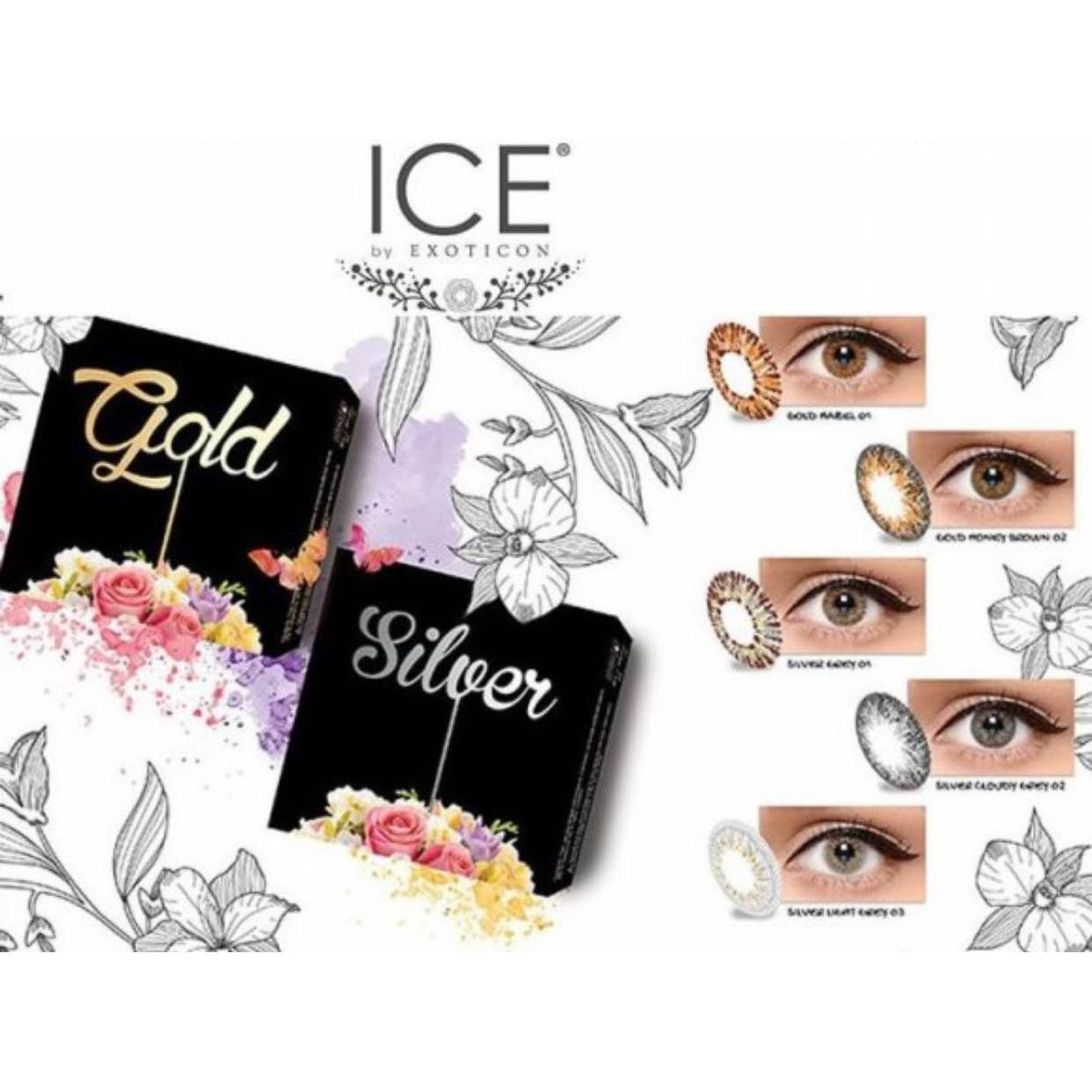 New baru - Ice Gold By Softlens Exoticon X2 (2 Pilihan Warna)  4284ec68e8