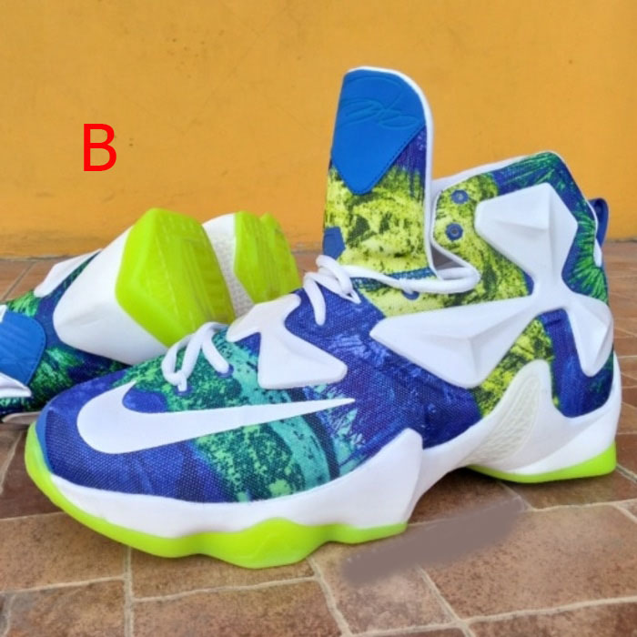 ... Sepatu Basket Nike James Lebron XIII 13 All Star Alligator Man ... f41141366d