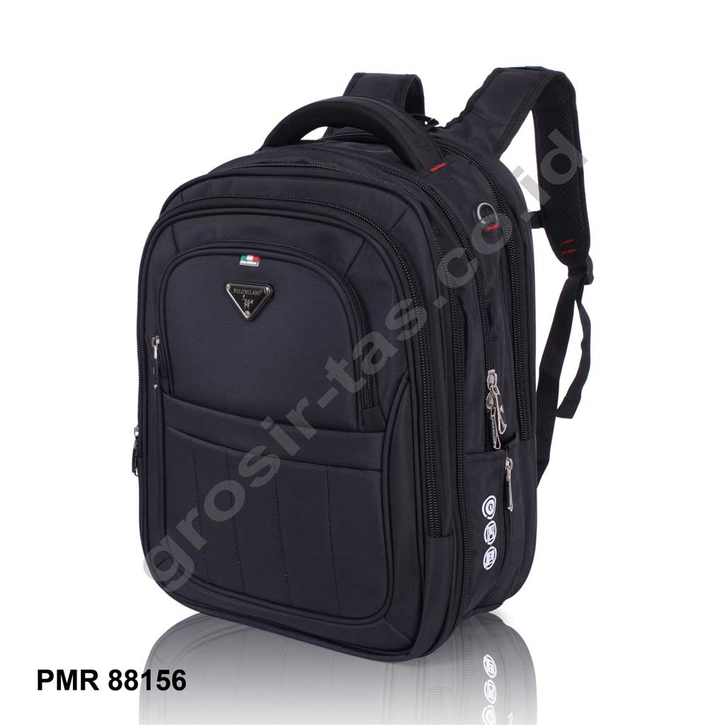 Ransel Polo Milano 88156 Black Elevenia Laptop
