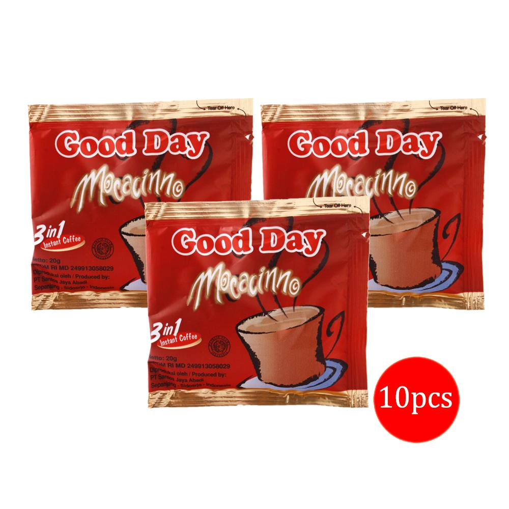 harga Good Day Mocacinno 3in1 Kopi Sachet - 20gr isi 10pcs (1 Renceng) elevenia.co.id