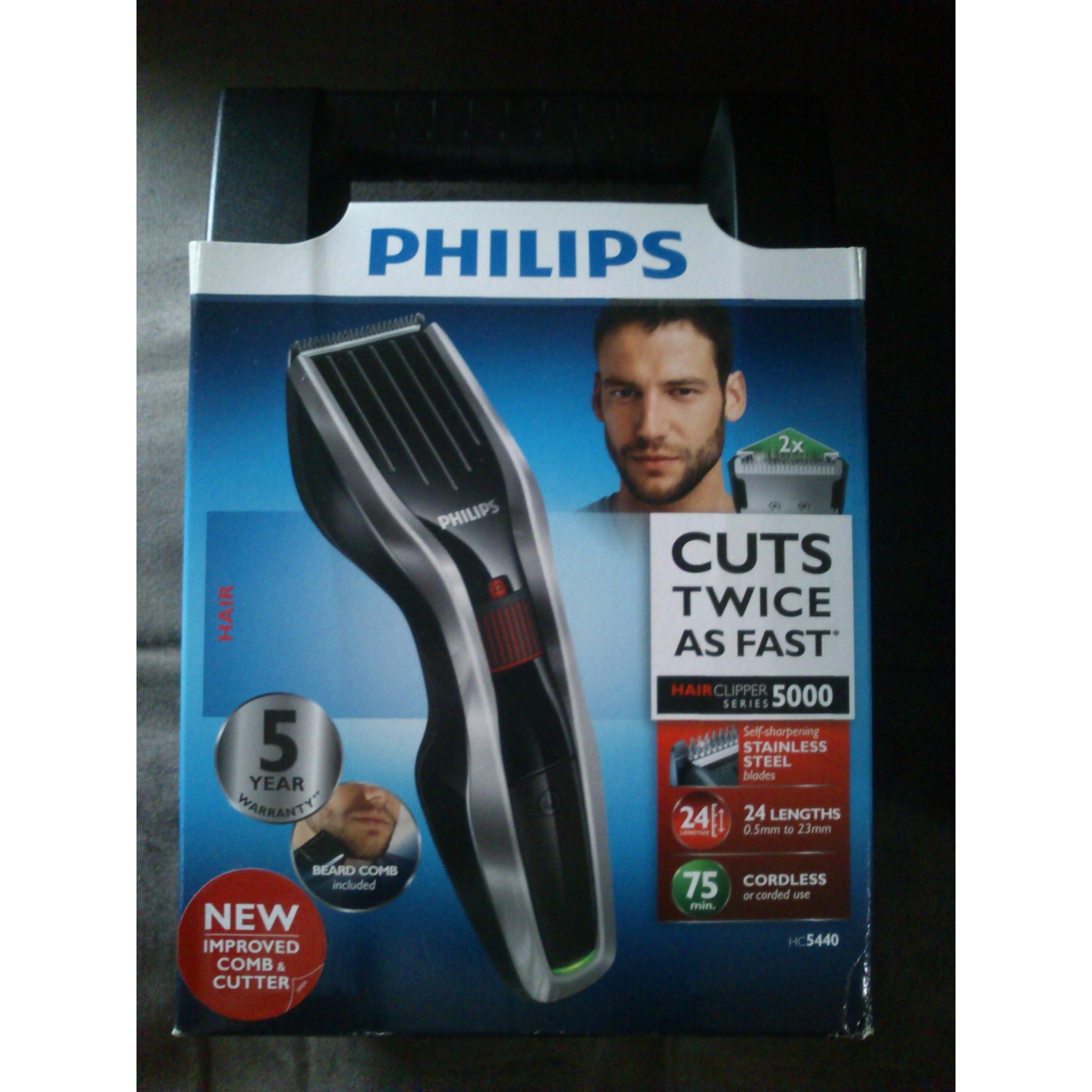 Philips Hair Clipper Hc5440 Alat Cukur Rambut Hc 5440 Cordless ... fec5c1d681