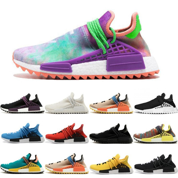 brand new d5512 ddf80 2018 Cheap Wholesale Nmd Online Human Race Pharrell Williams X Nmd Sports  Running Shoes,discount Cheap Athletic Mens Shoes With Box Sun Glow Women ...