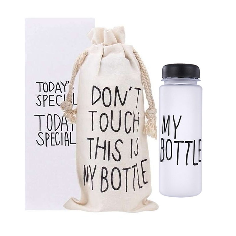 ... MY BOTTLE DOFF - 500 ML - WITH POUCH DAN BOX ...