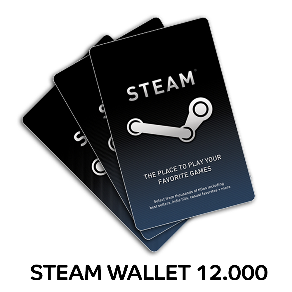 Steam Wallet 12000 Elevenia Bundle 10pcs Idr 400000