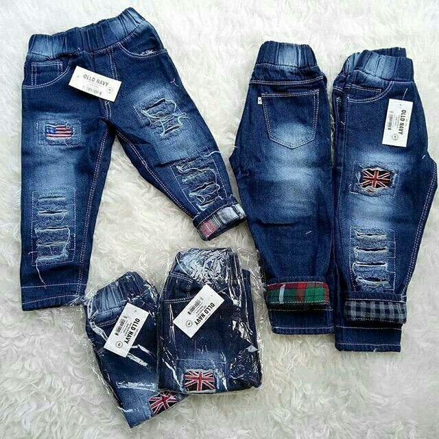 Jeans Ripped Anak Unisex 1-5th