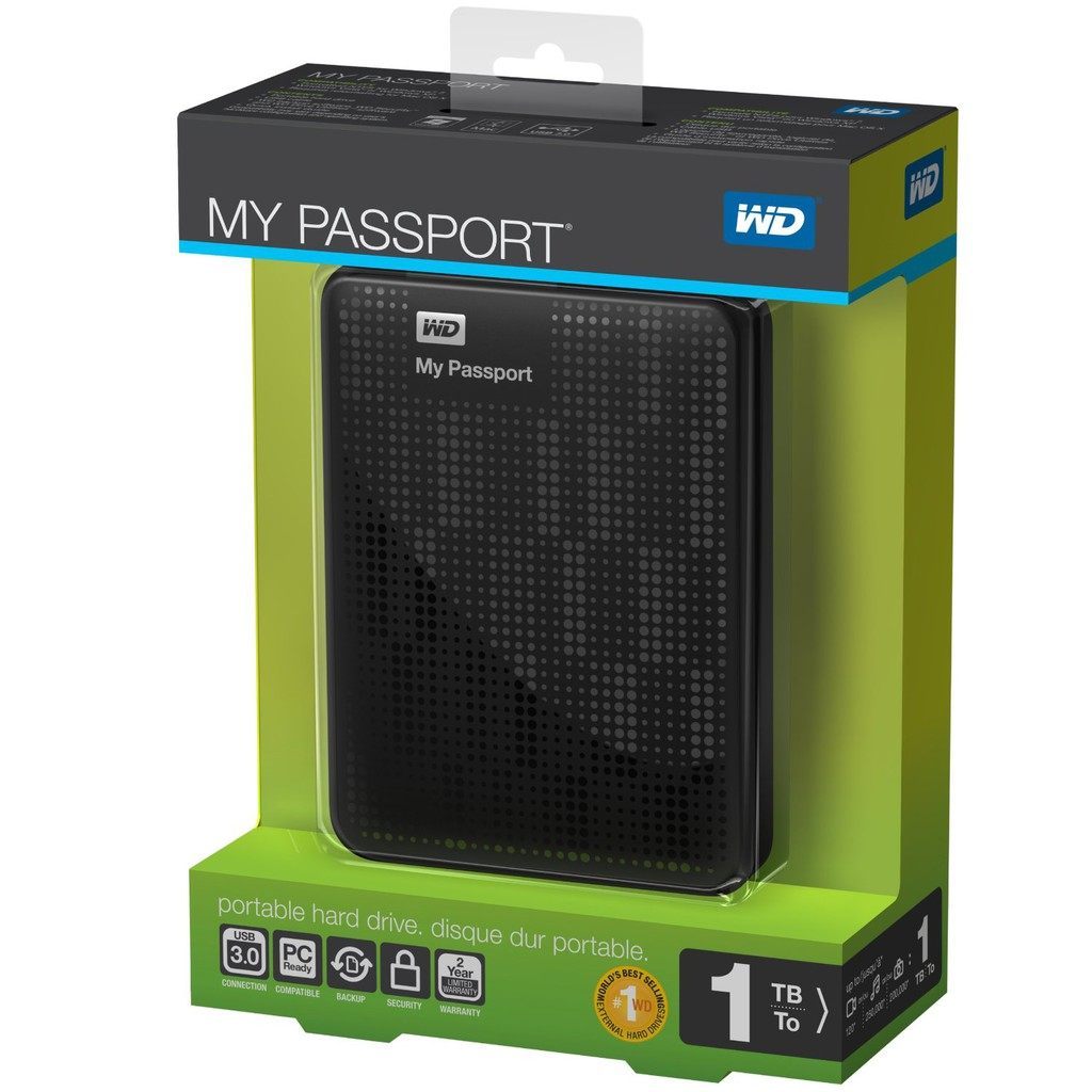 WD My Passport Ultra 1TB USB 3.0 .