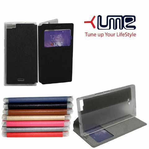 Ume Himax M1 View Flip Cover Flipshell Leather Case Sarung Handphone Source · Flipshell Flipcover Flip