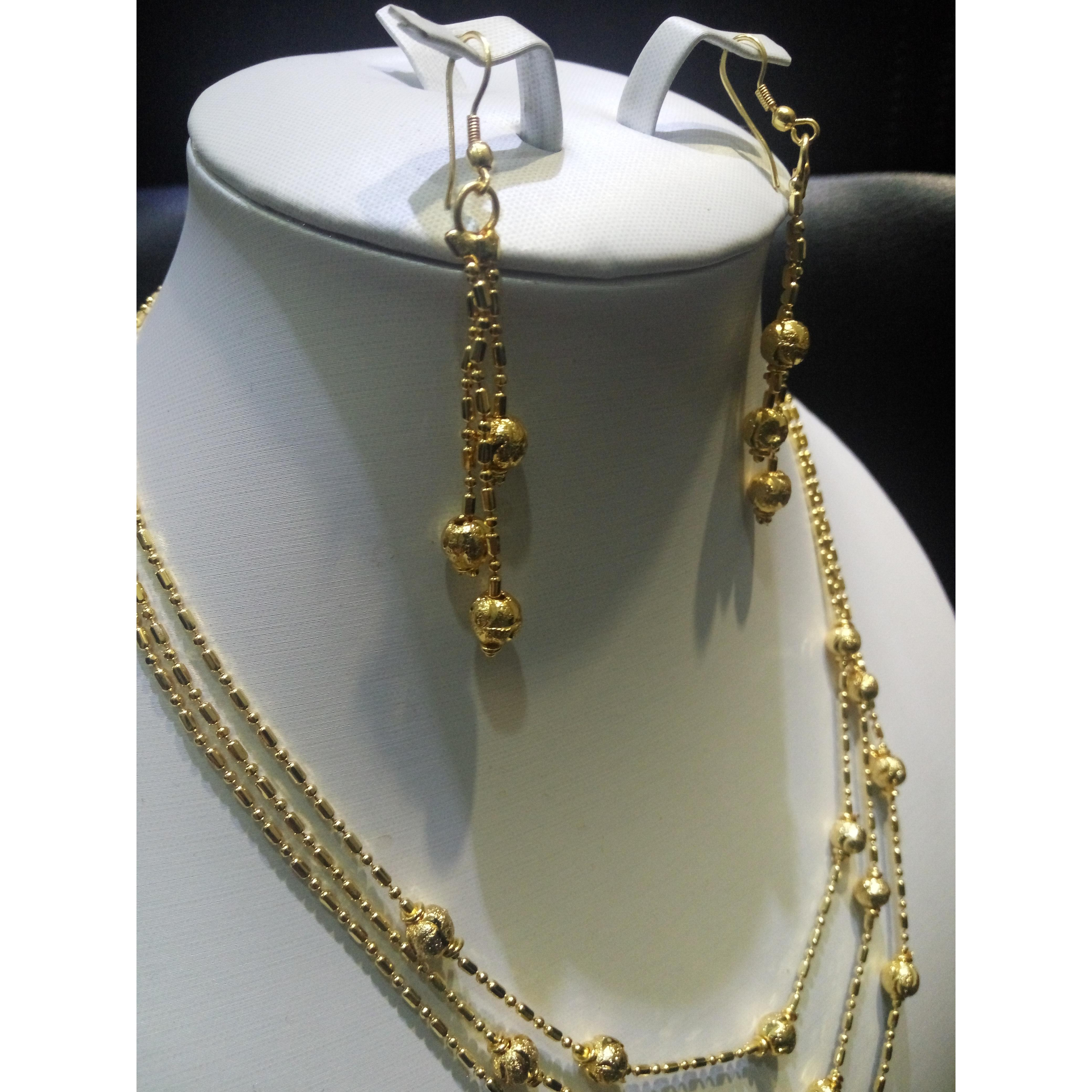 ... Home Xuping Sj1078 Jewel Set 18k Gold Plated Page 4 Kalung Anting