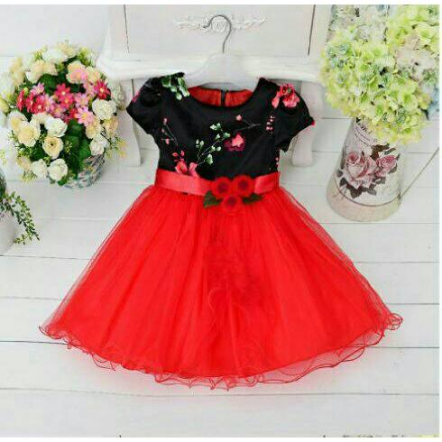 Dress Flower Tasya Kid