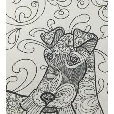 Coloring Book For Adults Harga : Doodle Dogs: Coloring Books For Adults Featuring Over 30 Stress Relieving Dogs Designs elevenia