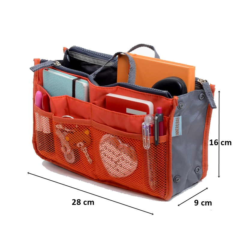 ... Motif Korea Dual Bag - Tas Organizer Bag in Bag Tas Organizer - Dual in Bag ...