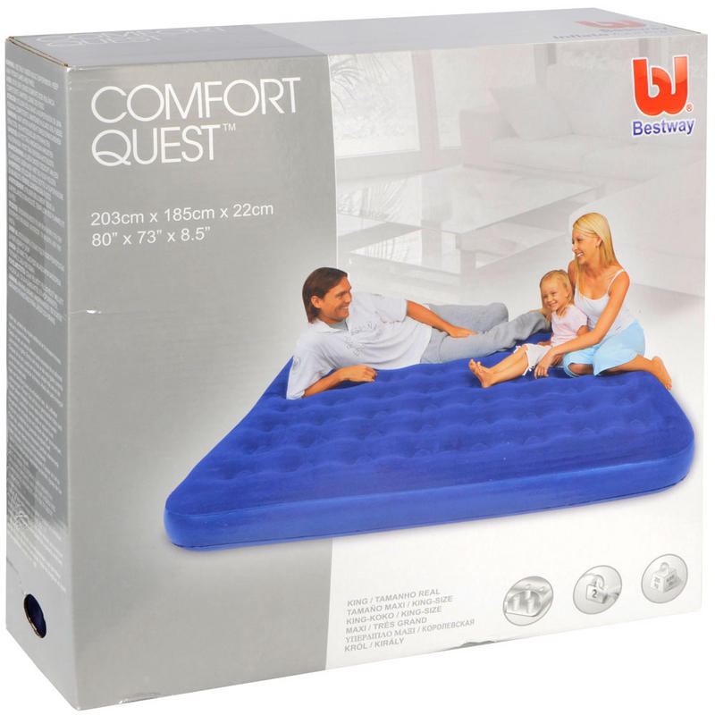 king size air mattress. Bestway Comfort Quest King Size Air Bed - Kasur Angin Mattress B