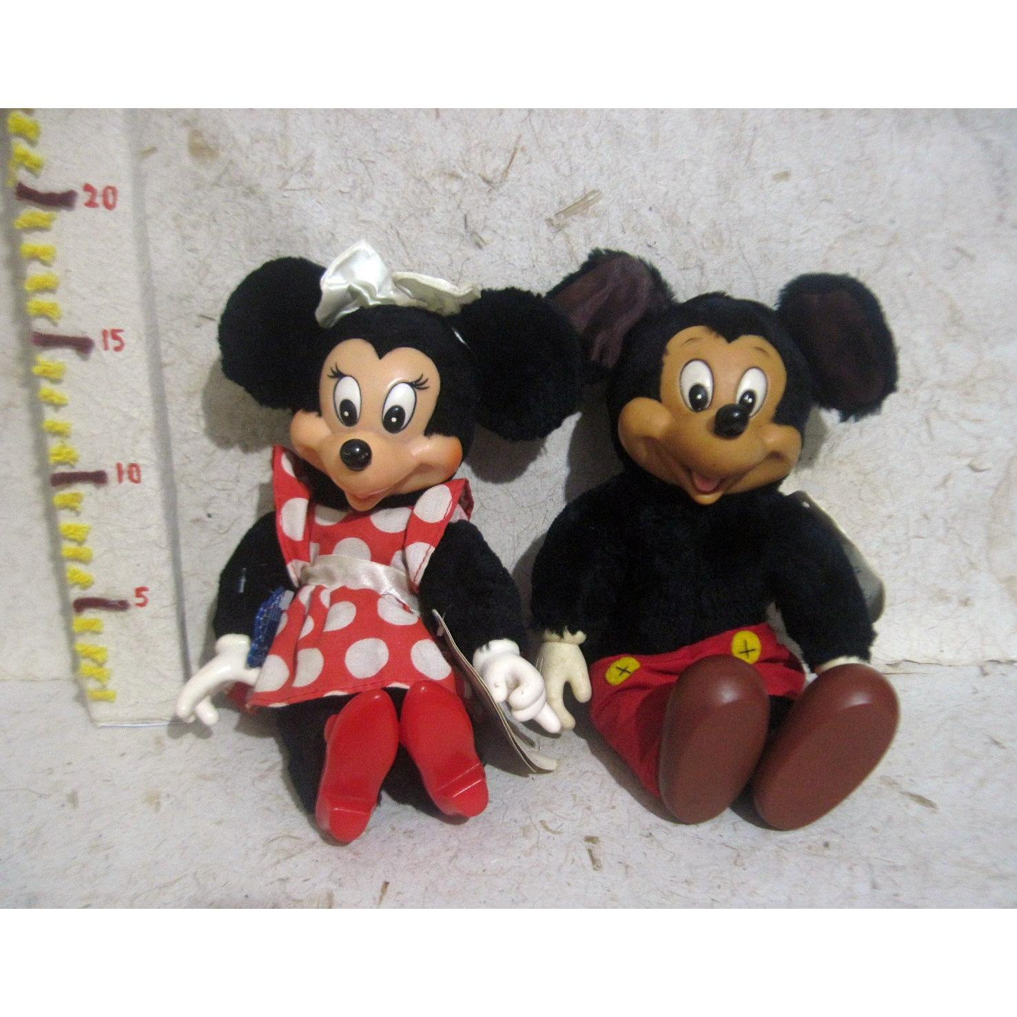 Boneka Mickey Mouse Minnie Mouse Original Disney Applause 1981 Vintage  Classic 565358aef6
