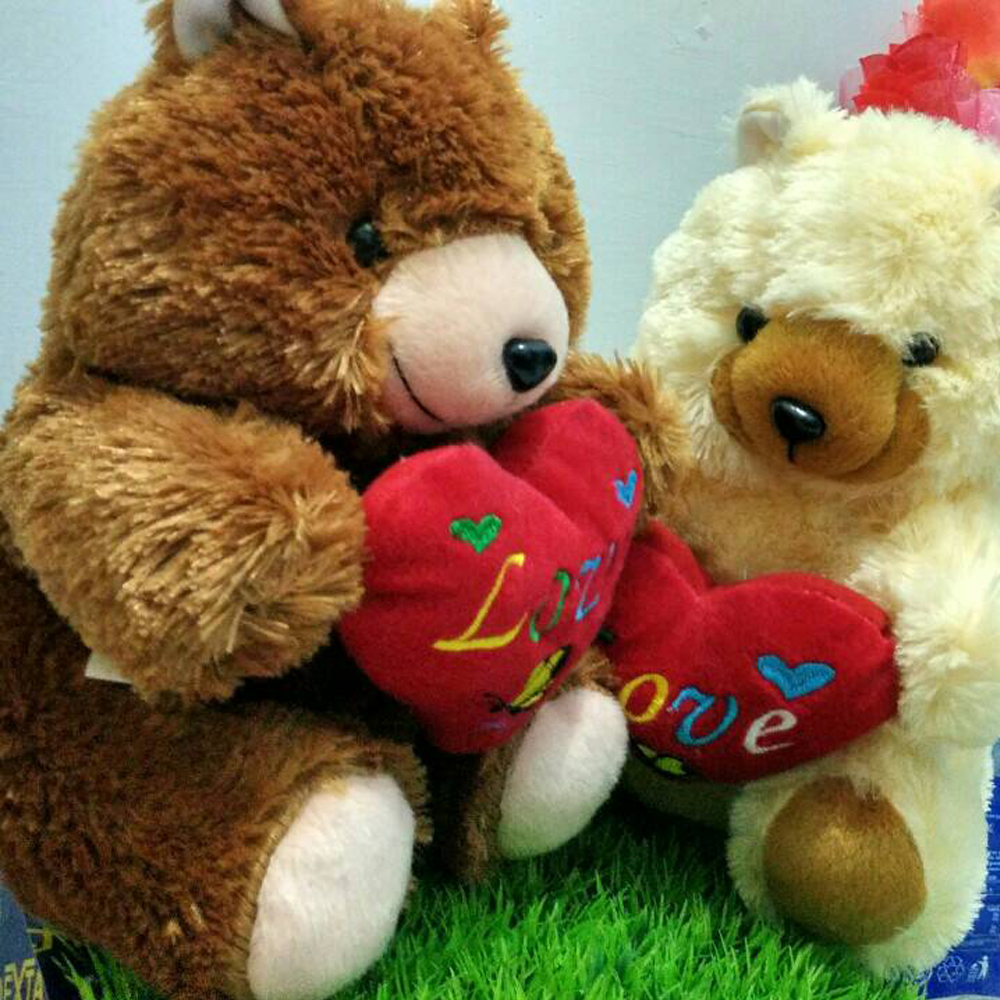 Boneka Teddy Bear Love 28cm  664c61f9df