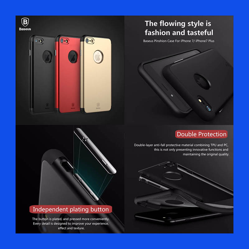 iPhone 7 Baseus Pinshion Case Casing Cover