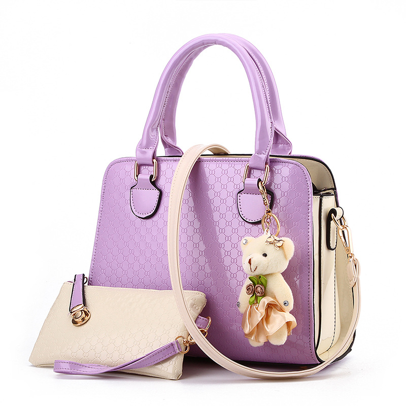952dc621cca [MH] LD07 TAS FASHION HANDBAG IMPORT WANITA OFFICE BAG TAS KANTOR COLORPOP  TEDDY BEAR BAG CHARM