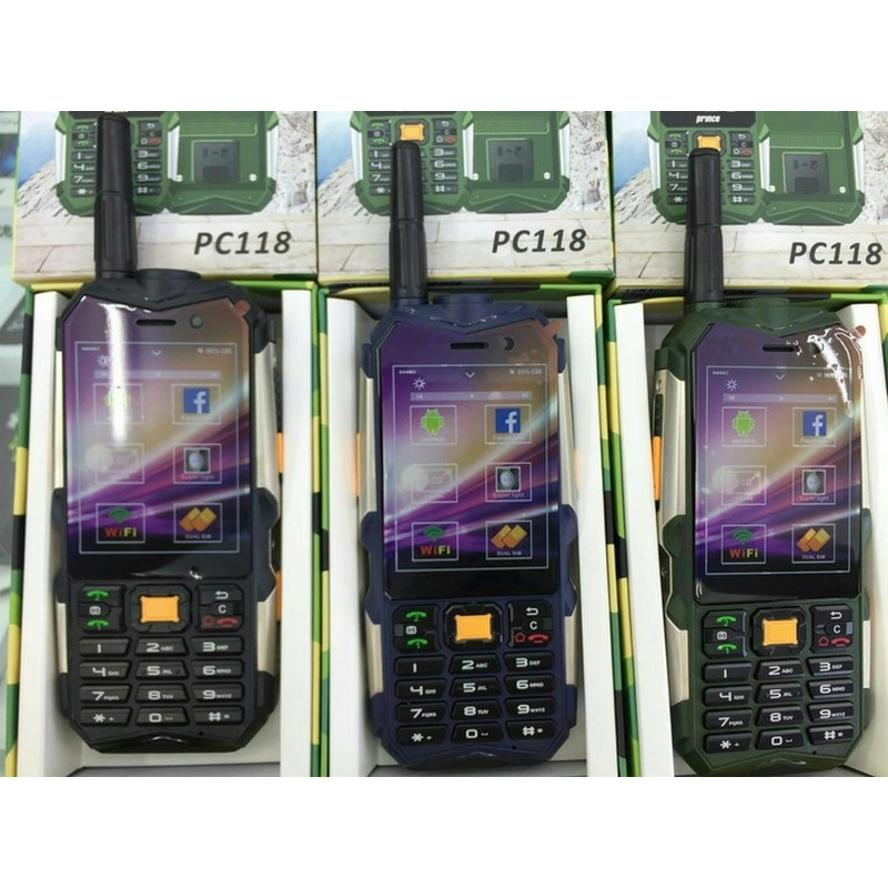 ... PRINCE PC118 ANDROID 3G OUTDOOR bisa POWERBANK ...