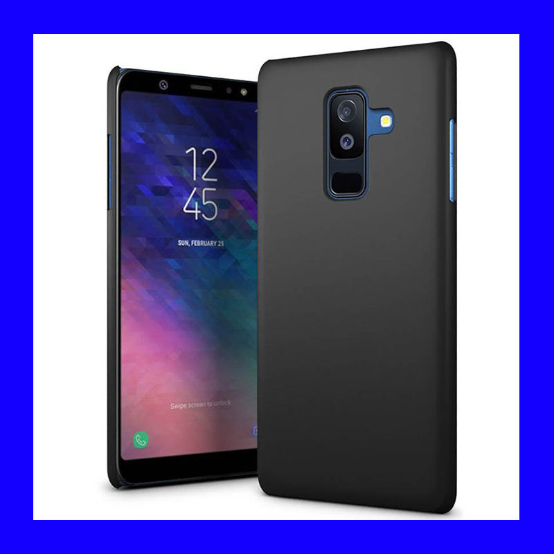 watch ad78e 07629 Samsung Galaxy A6 Plus 2018 - Rubberized Hard Case Casing Cover