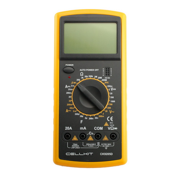 ... MULTIMETER DIGITAL CELLKIT 9205D (CK 9205D) ...