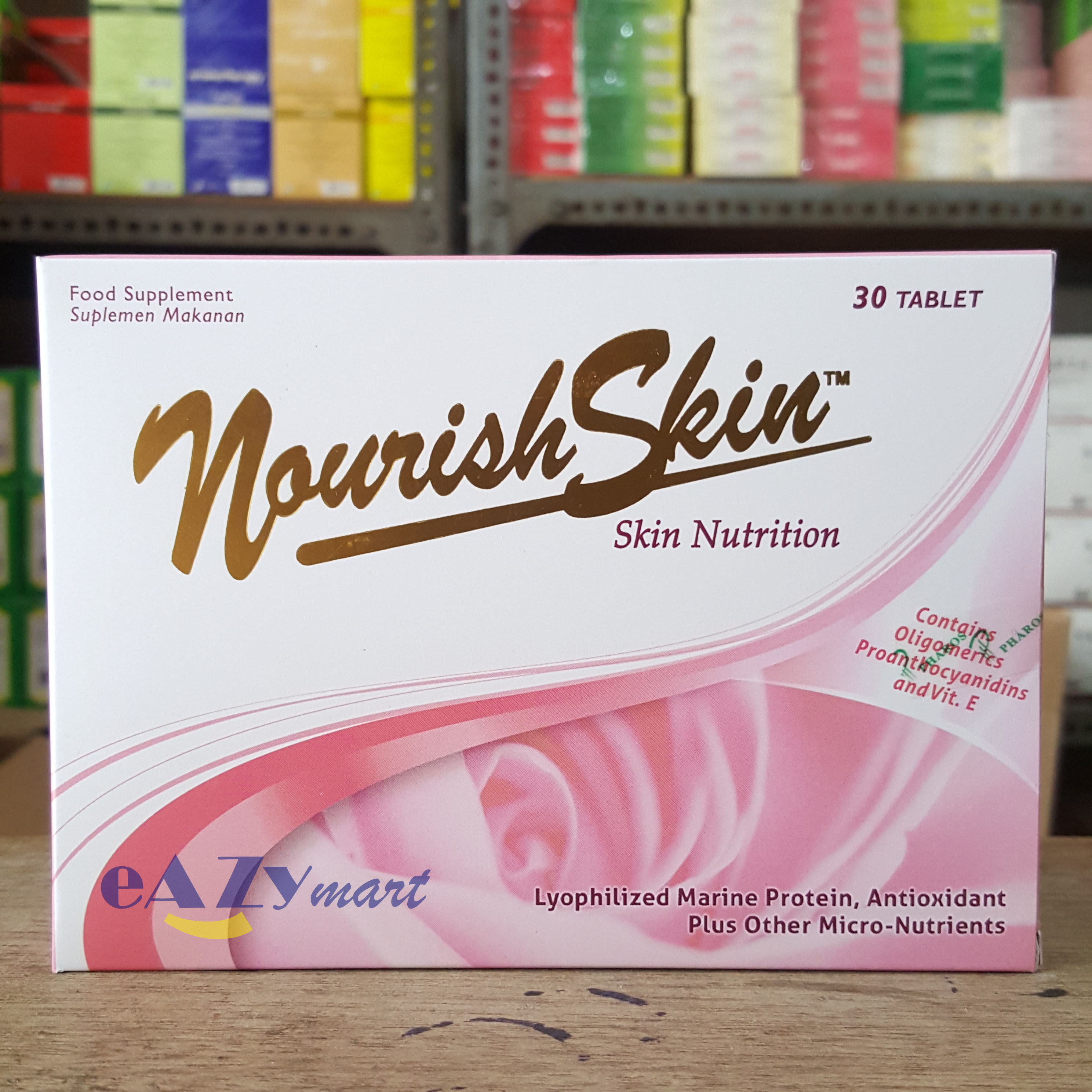 Nourish Skin Isi 30 Tablet Elevenia