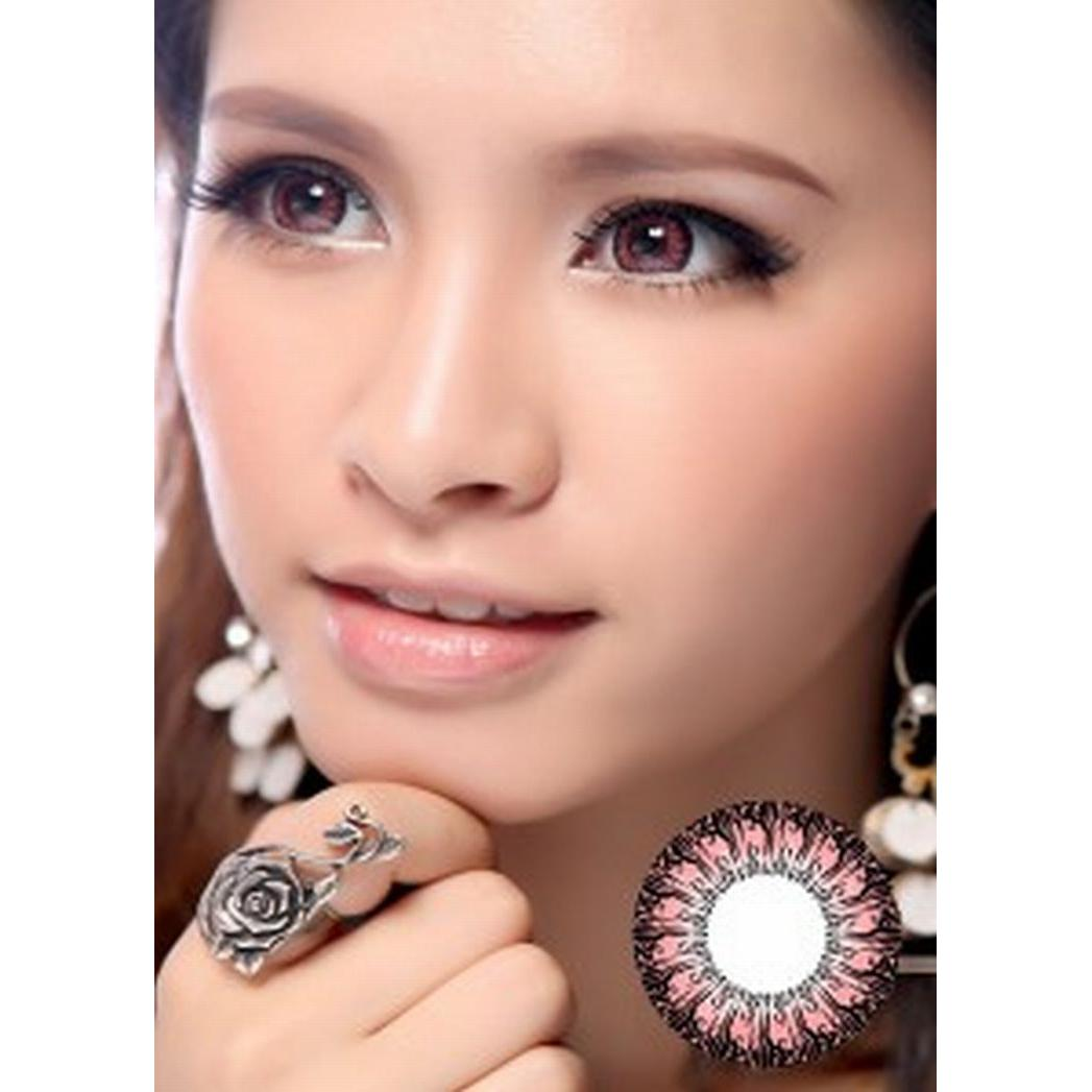 Softlens Baby Color Angel Elevenia Diva Queen One Layer With Clear Vision