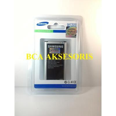 BATTERY BATERAI SAMSUNG 100% ORIGINAL SEIN S5/ G 900/ G900F/ I9600 - FREE HOLDER RING